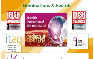 Irish Healthcare Awards 2019: Double Nomination for Qpercom