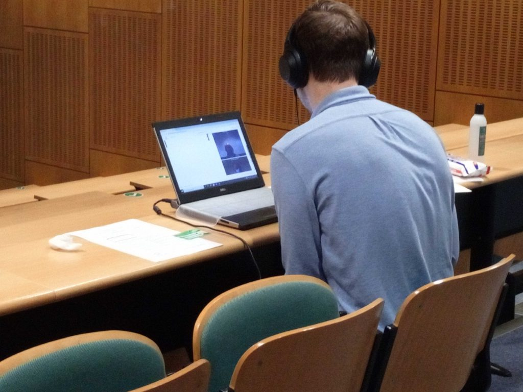 Participating in a virtual OSCE