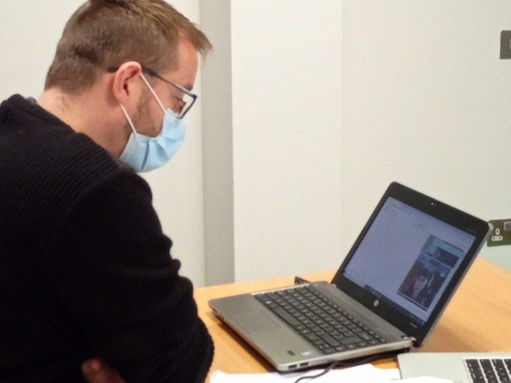 Taking a remote exam during Coronavirus