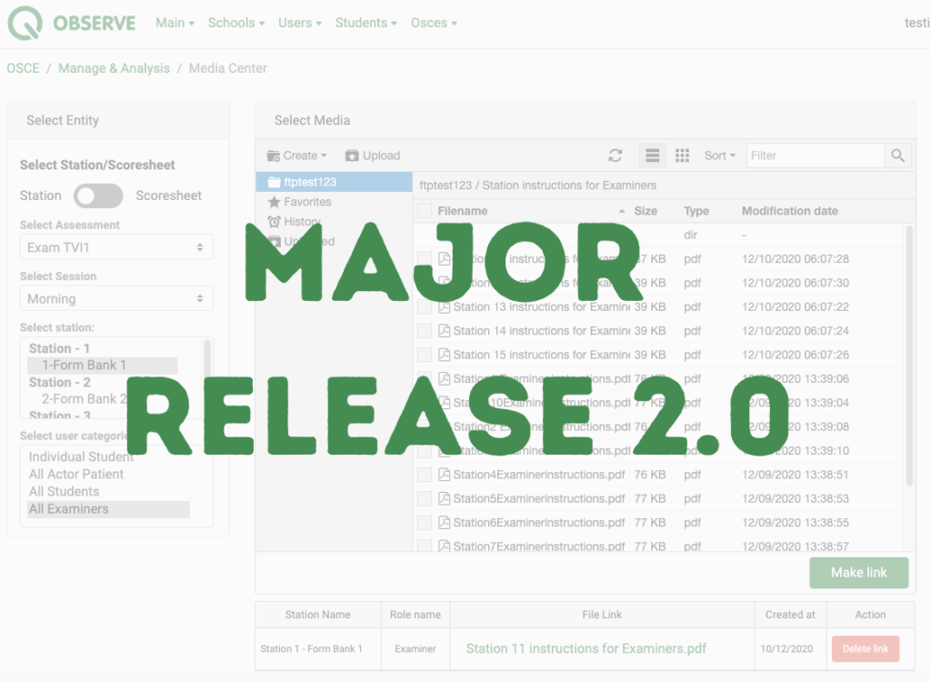 Major Release Qpercom