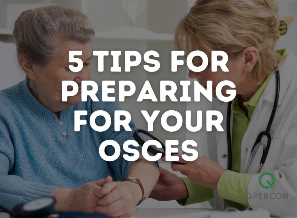 Preparing for an OSCE exam