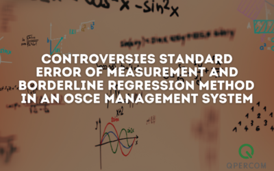 Controversies Standard Error of Measurement and Borderline Regression Method in an OSCE Management System