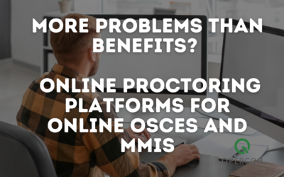 More problems than benefits? The use of external Online Proctoring platforms for Remote OSCEs and MMIs