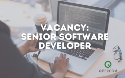 Vacancy: Senior Software Developer